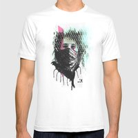RIOT Girl Mens Fitted Tee White SMALL
