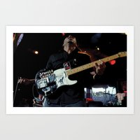 Tom Morello - Rage Against the Machine /AUDIOSLAVE Art Print