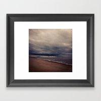 Formby Beach Framed Art Print