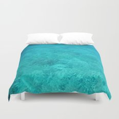 Clear Turquoise Water Duvet Cover