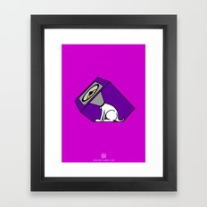 Wireless Woofer Framed Art Print
