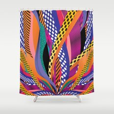 Leave a Trace Shower Curtain