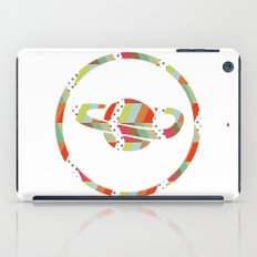 retro pattern and planet 1 iPad Case
