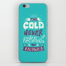 Frozen: The Cold Never B… iPhone & iPod Skin
