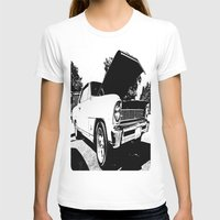 Classic Chevy Nova Womens Fitted Tee White SMALL