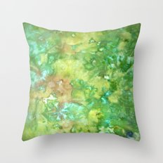 Greenwoods Abstract Throw Pillow