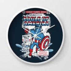 Eagle of America Wall Clock