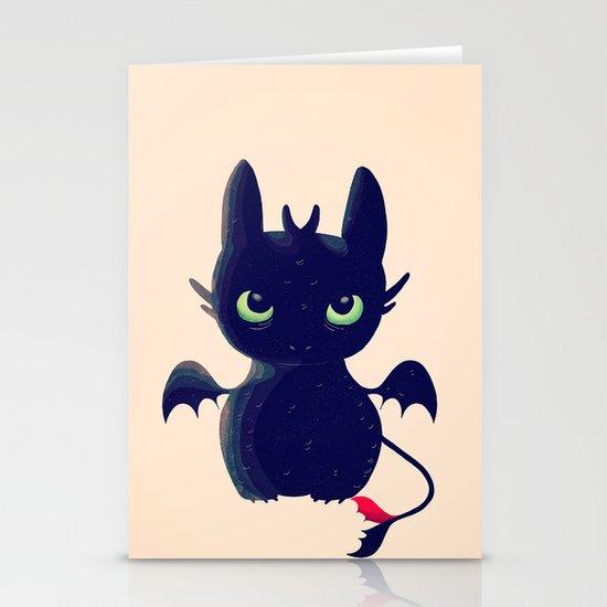 Night Fury Stationery Card