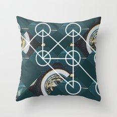 Tire.d Throw Pillow