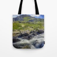 Path To Tryfan Tote Bag