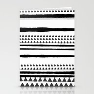 Handrawn Lines Stationery Cards
