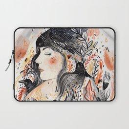 Laptop Sleeve - Crows & I - Sandra Dieckmann