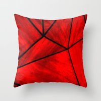 Modern Abstract Triangle Pattern Throw Pillow