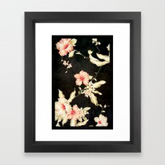 VINTAGE FLOWERS III - for iphone Framed Art Print