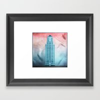 The Eastern Columbia Bui… Framed Art Print