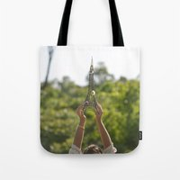 The World On My Shoulder… Tote Bag
