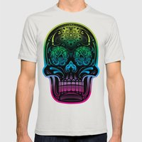 La Bella Muerte Mens Fitted Tee Silver SMALL