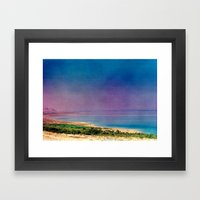Dreamy Dead Sea I Framed Art Print