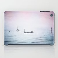 The Lonely Man and The Infinite Sea Color Version iPad Case