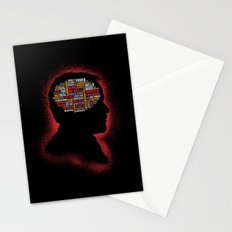 Crowley's Phrenology Stationery Cards