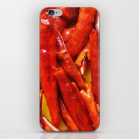 Chili peppers iPhone & iPod Skin