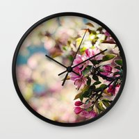 Ode to Spring Wall Clock