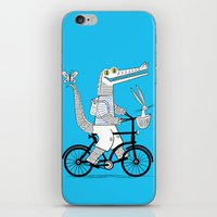 The Crococycle iPhone & iPod Skin