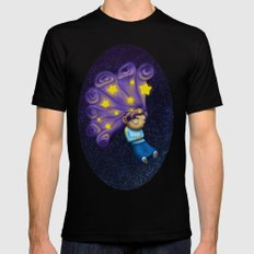 Dreaming Girl Mens Fitted Tee SMALL Black