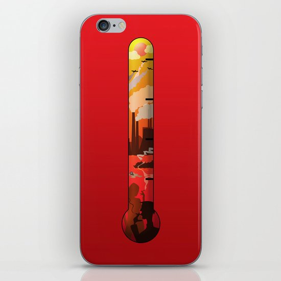 Pollution iPhone & iPod Skin