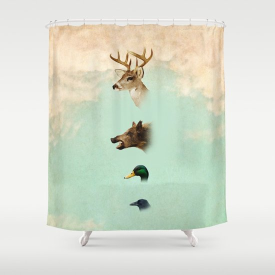 beauty not for sale Shower Curtain