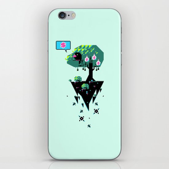 Greedy Grackle iPhone & iPod Skin