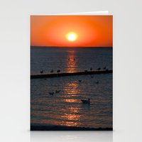 Holy Sunset On The Balti… Stationery Cards
