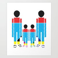 Familly Art Print