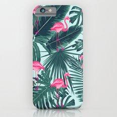 tropical pink flamingo Slim Case iPhone 6s