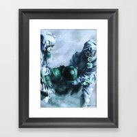 Give Me Something To Bel… Framed Art Print