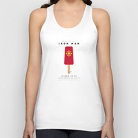 My SUPER ICE POP- No06 - IRON MAN Unisex Tank Top