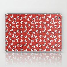 Birds {All birdie around - red} Laptop & iPad Skin