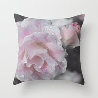 adorned Throw Pillow