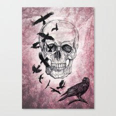 The Crows of Death Canvas Print
