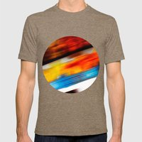 Abstract I Mens Fitted Tee Tri-Coffee SMALL