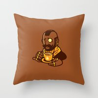 Gentleman T Throw Pillow
