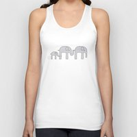 Elephant Family Unisex Tank Top