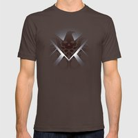 Hidden HYDRA – S.H.I.E… Mens Fitted Tee Brown SMALL