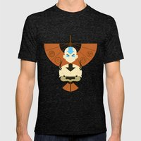 Yip Yip Mens Fitted Tee Tri-Black SMALL