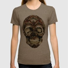 awaking the unkind pt2 Womens Fitted Tee Tri-Coffee SMALL