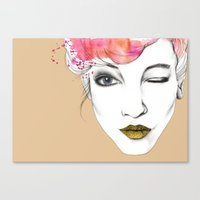 Life Is A Canvas, Throw … Canvas Print