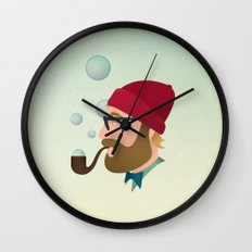 Soap bubble Hipster Wall Clock
