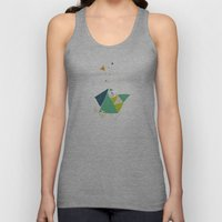 Exploding Triangles//Six Unisex Tank Top