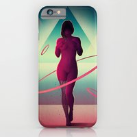 iPhone Cases featuring Átomos by Victor Vercesi