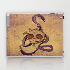 Skull and ribbon  Laptop & iPad Skin